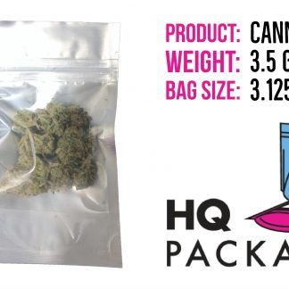 3.5 grams cannabis in 3x5 bag